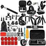 Andoer Multifunctional Camera Accessories Cam Tools for Outdoor Photography Cameras Protection Tool for gopro hero 6 5 4 3 kit 3 way selfie stick for Eken h8r/for xiaomi for yi EVA case VS77