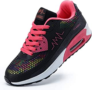 LMMET Sneakers Scarpe Sportive Donna Scarpe da Ginnastica Runnning,Moda, Camouflage, Casual, Cuscino d'Aria, Assorbimento degli Urti, Piattaforma