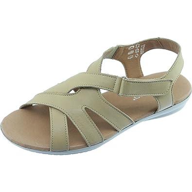 Sandale Sensible Aerobics Confort Pied Siracusa Scratch Nu WDHIeE29Yb