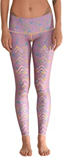 product image for teeki Meadow Hot Pant Yoga Leggings (Small) Pink