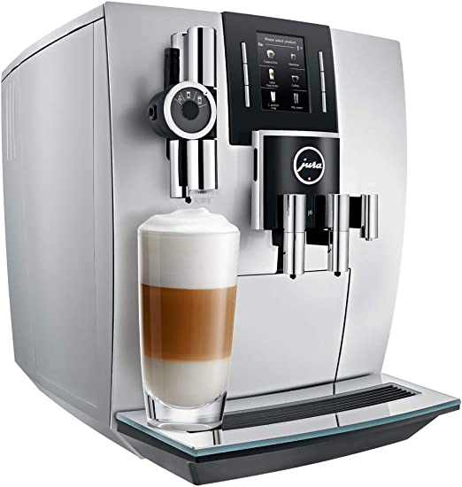 JURA J6 Independiente Máquina espresso Plata 2,1 L 16 tazas ...