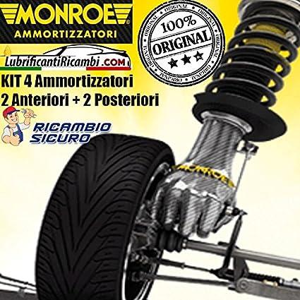 KIT ORIGINAL MONROE 4 amortiguador para Citroen C2 desde 2003-2 delanteras y 2 traseras.
