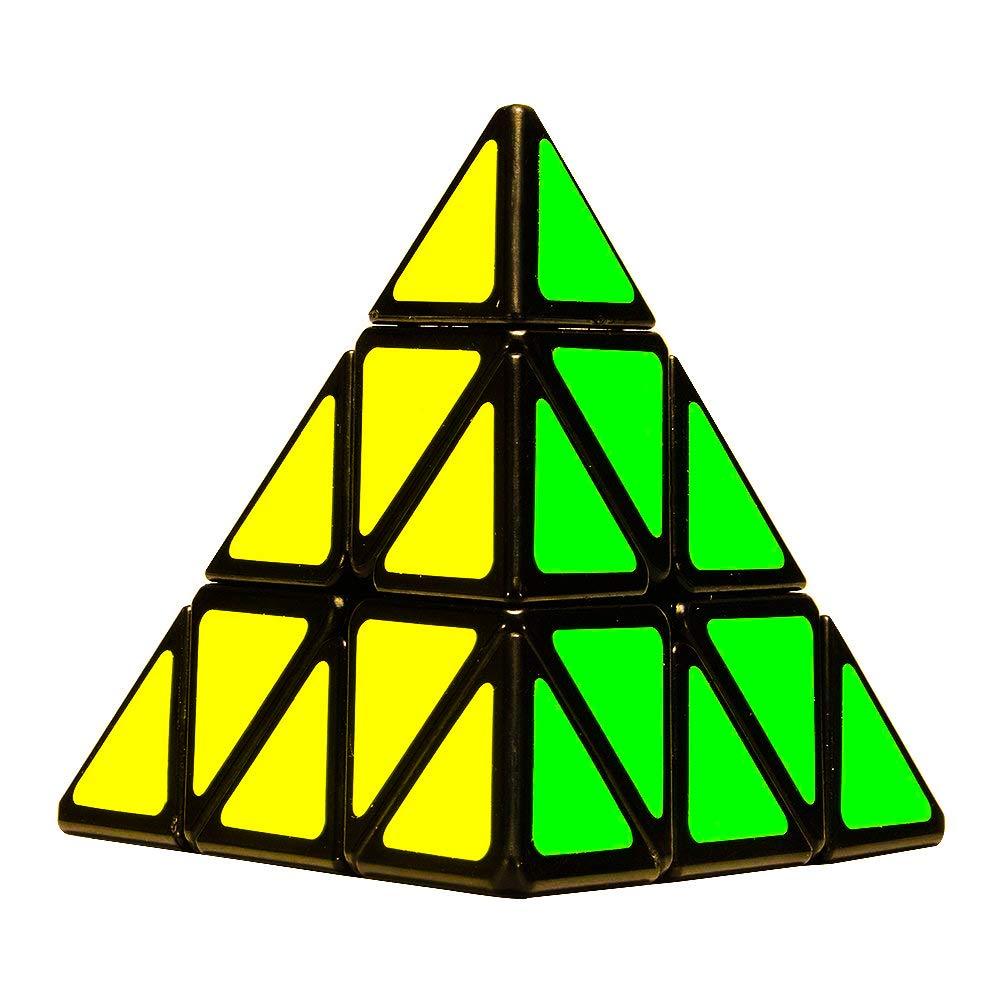 D ETERNAL YJ Pyraminx Pyramid Cube 3x3 High Speed Triangle Puzzle Cube, Multicolor (B07TCKWYMW) Amazon Price History, Amazon Price Tracker