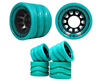 Shark Wheel Quad Skate Formula 86 a exterior, size:; Producer Color 86 a Green: Amazon.es: Deportes y aire libre