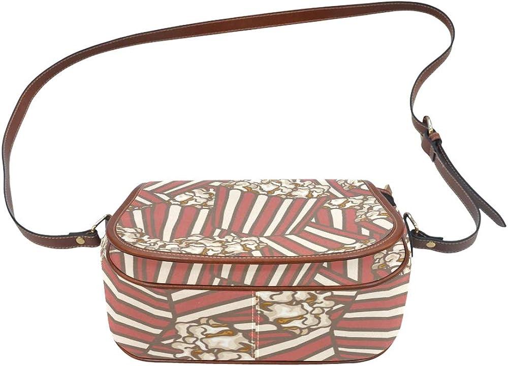 Collection Of Popcorn Shoulder Bag For Teens Flap With Magnetic Snap Printed Shoulders Bag Girls Shoulder Bag