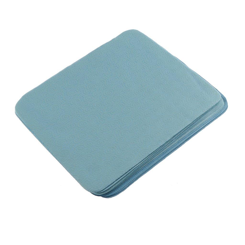 MagiDeal 20 Pezzi di Panni In Microfibra Per Telefono, Tablet, Lenti, Monitor LCD, TV, Macchina Fotografica, Occhiali, Gioielli, Ottica Ottica - Blu Taglia unica