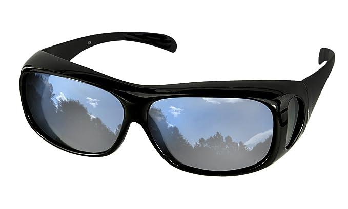 1ca3f954881 Image Unavailable. Image not available for. Colour  lenscovers Sunglasses  Wear over Prescription Glasses. Size ...