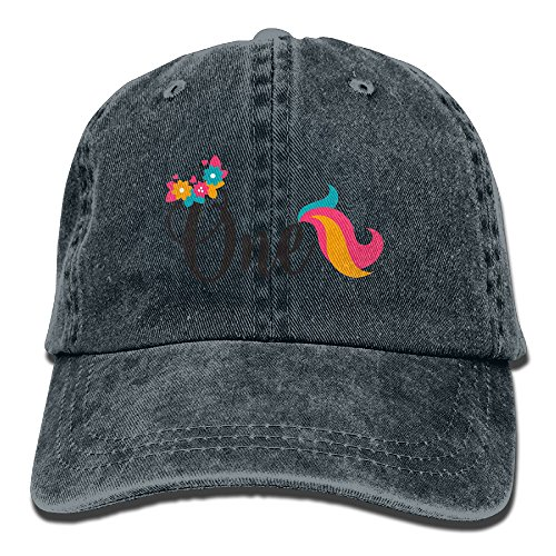Dacop 1St Birthday Outdoor Washed Cotton Adjustable Hat Baseball Cap Navy