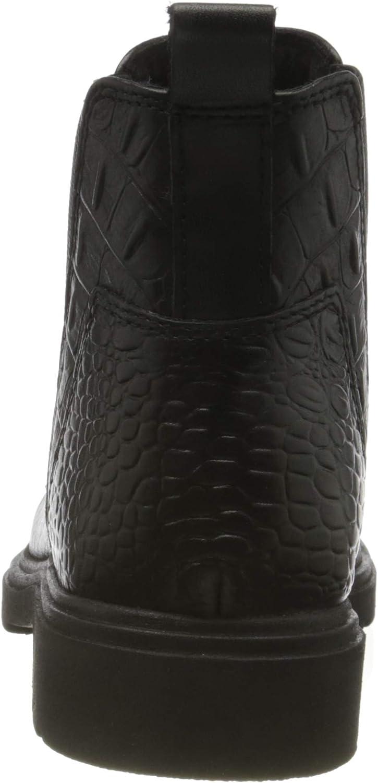 MARCO TOZZI 2-2-25487-35, Bottine Chelsea Femme Black Croco