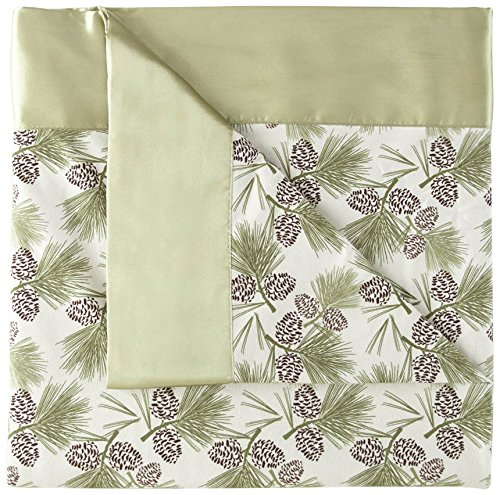 Shavel Home Products All Seasons Year Round Sheet Blanket, Full/Queen, Natural Pinecone