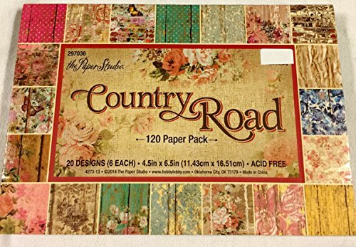 Country Road Scrapbooking Paper Pk 4.5x6.5 120 -