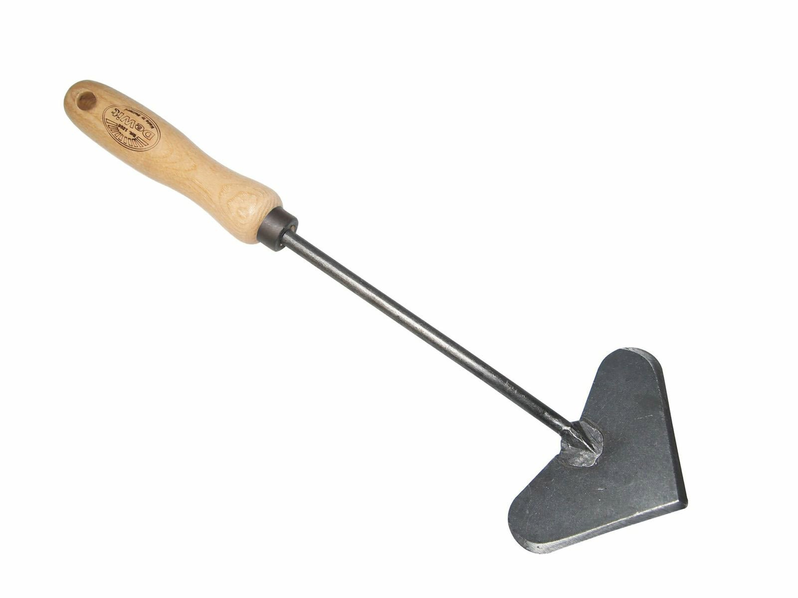 DeWit Heart-Shaped Hand Hoe with Short Handle