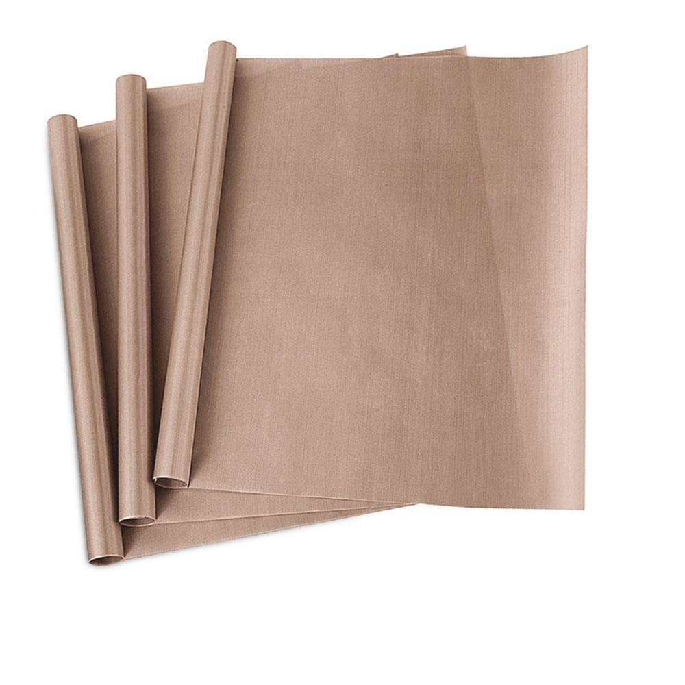Teflon Sheet for Heat Press - Non Stick 16 x 20 Heat Transfer Paper Reusable Heat Resistant Craft Mat 6 Pack YRYM HT