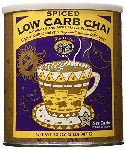 Big Train Low Carb Spiced Chai, 2 Lb Can