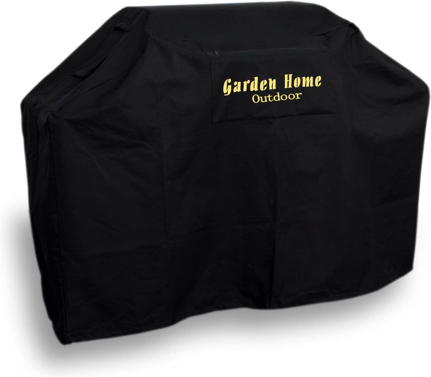 "Garden Home Outdoor Heavy Duty Grill Cover 3 Year Warranty, 68"", Black"