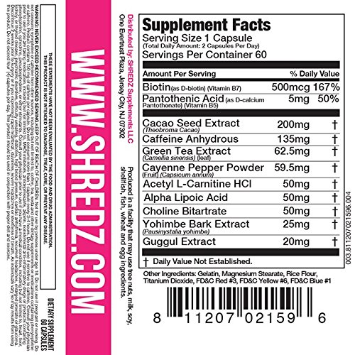 An Essential A Z On Quick Solutions In Weightlifting: SHREDZ Sexy & Lean Supplement Stack For Women, Lose Weight