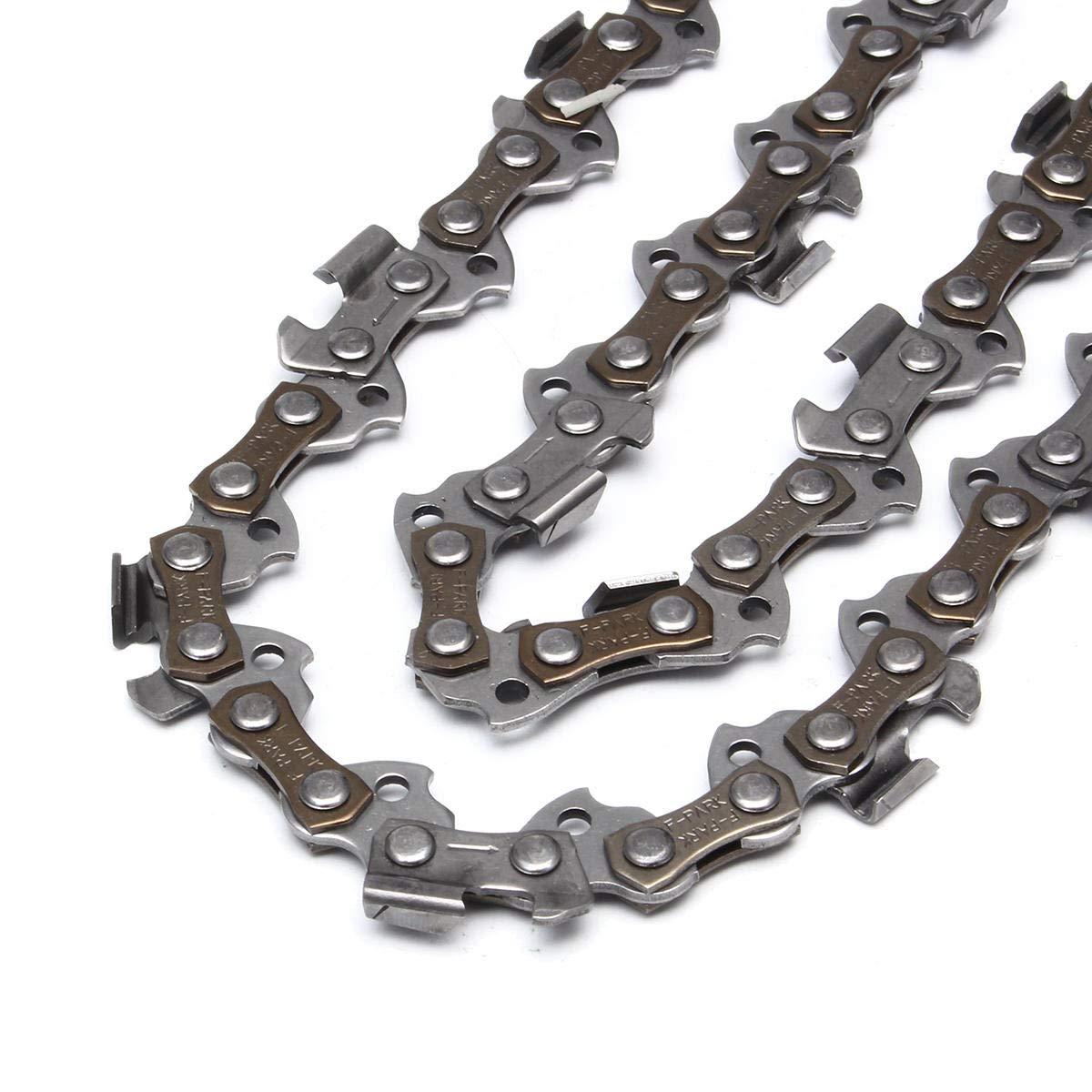 mit 2 Ketten f/ür Stihl Kettens/äge 017 MS170 MS171 Kettens/ägenf/ührungsschiene aus Stahl 35,6 cm