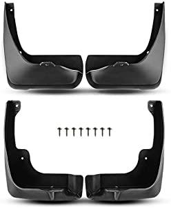 A-Premium Splash Guards Mud Flaps Mudflaps Replacement for Toyota Camry 2007-2011 excluding SE model 4-PC Set