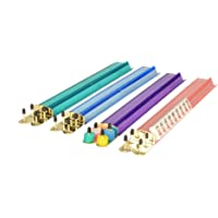 18 Inch Multi-Color Acrylic Mahjong Racks - Set of 4