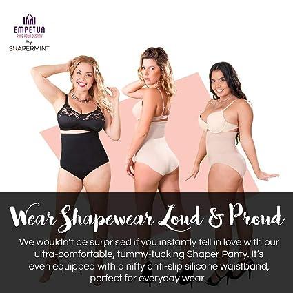 e9dbd27b532da Shapermint  Empetua Ultra-Thin High-Waisted Shaper Panty - Body Shaper at  Amazon Women s Clothing store