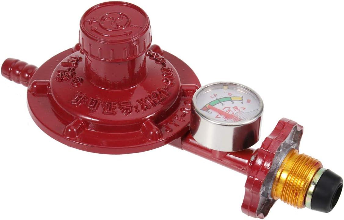 DOITOOL 1 Piezas Válvula Reguladora de Gas Aleación de ...