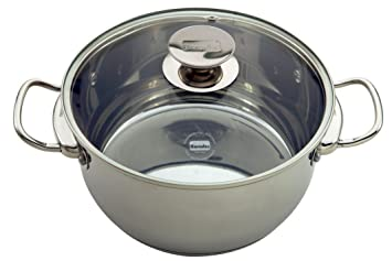 Buy Berndes Cucinare Induction Stainless Steel 9.1 Quart Stock Pot ...