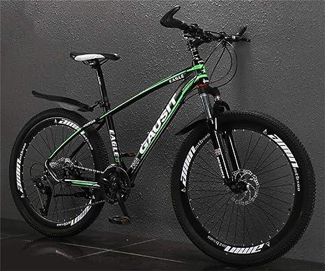 WJSW Bicicleta de MTB con Marco de Aluminio de 26 Pulgadas ...