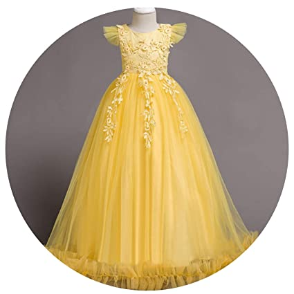 b119586d7 Image Unavailable. Image not available for. Color: 2019 Kids Girls Wedding  Flower Girl Dress ...