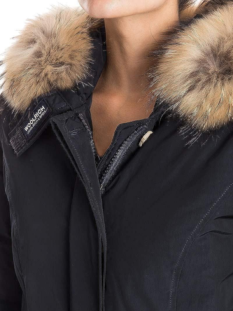 Manteau Bleu Femme Woolrich Wwcps2604cf40324 Polyester qwBIf