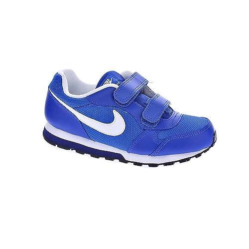 Nike MD Runner 2 (TDV), Zapatos de Primeros Pasos Unisex bebé, Azul
