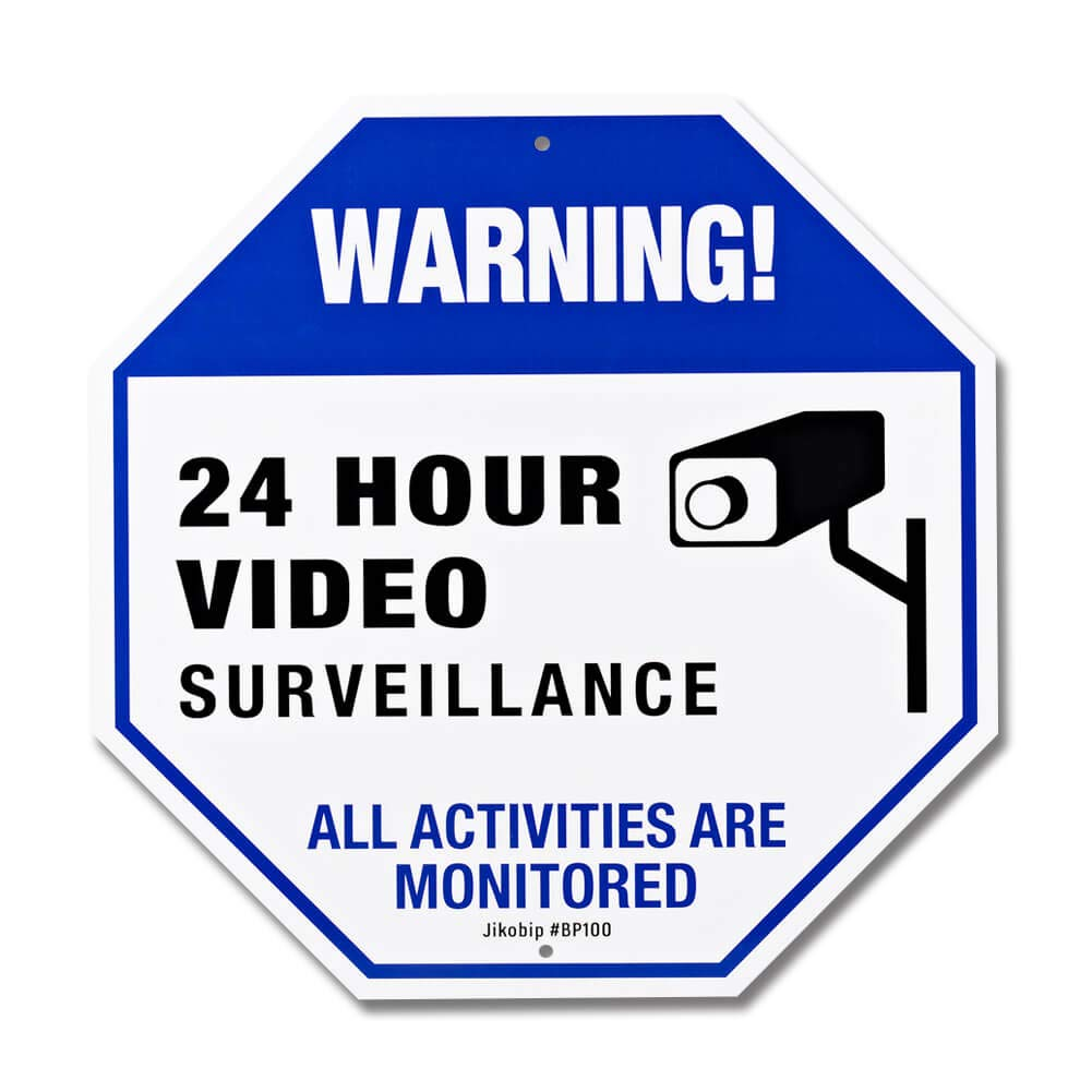 Amazon.com: Señal de seguridad para cámara – Señal de ...