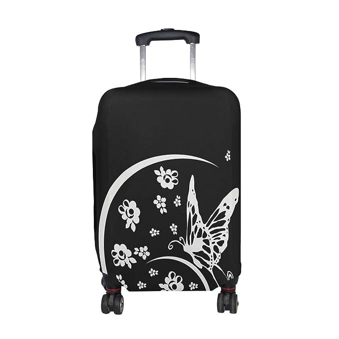 a74e1b3cf0f1 Amazon.com | DEYYA Black And White Animal Butterfly Spandex Travel ...