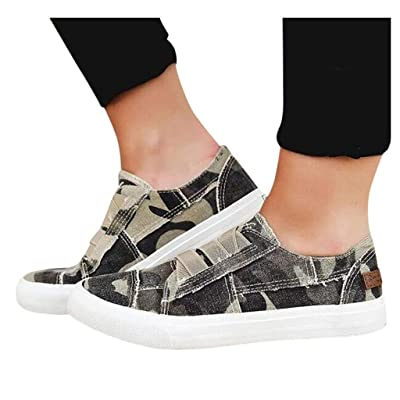 Xinantime Womens Sneaker Canvas Casual Flats Shoe Classic Leopard Print Sport Comfortable Shoe Hipster Sneakers: Clothing