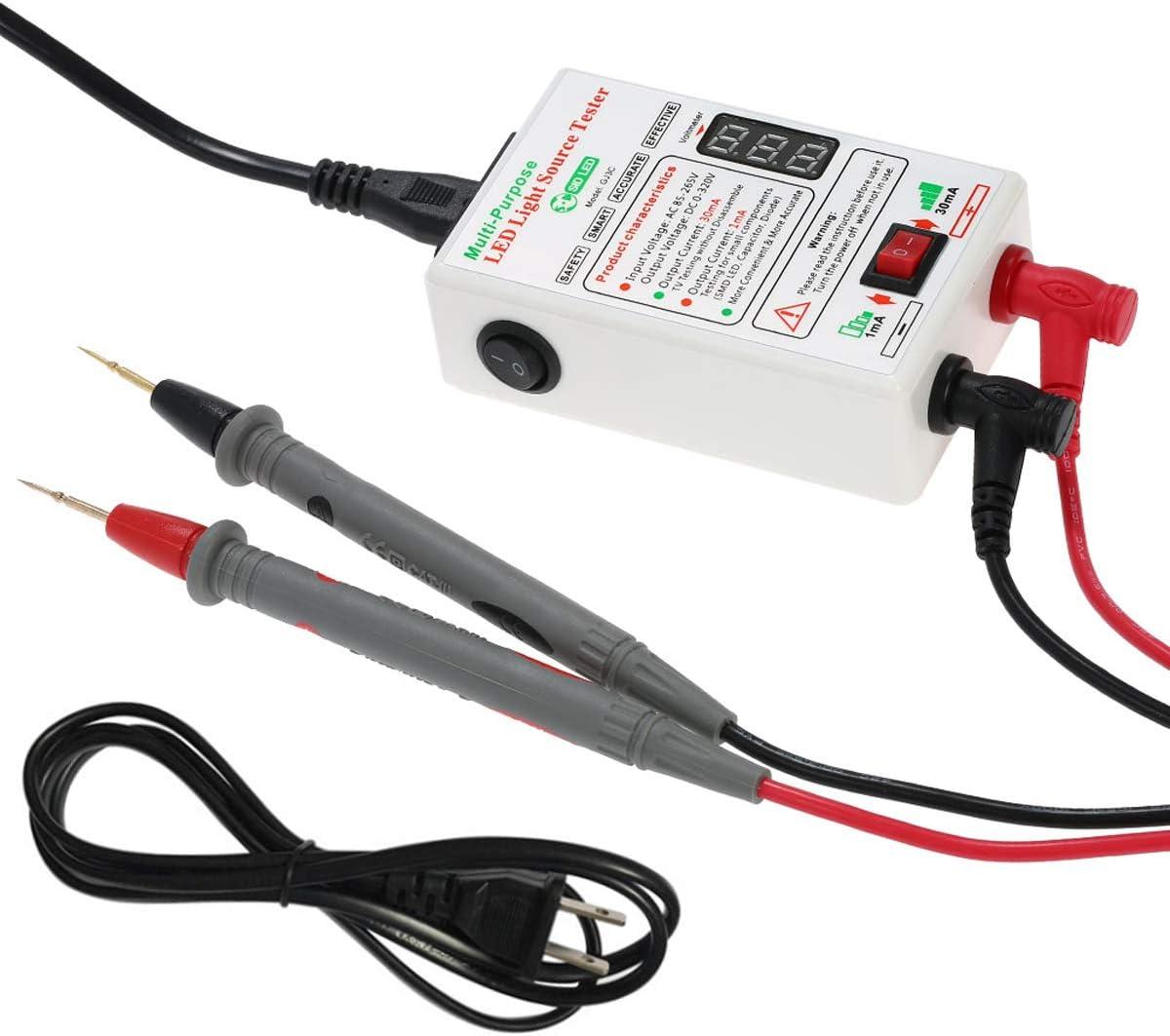 SID - Comprobador de retroiluminación LED sin desmontar la pantalla LCD para todas las cuentas LED TV Board Detect Repair y todas las aplicaciones LED salida 0-320 V: Amazon.es: Bricolaje y herramientas