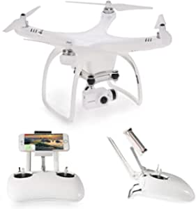 UPair One Plus RC Drone with 2.7K HD Camera Live Video WiFi Quadcopter with Altitude Hold Mode Headless Mode and GPS One Key Return Home, Adjustable 120° Wide-Angle and Follow Me Function