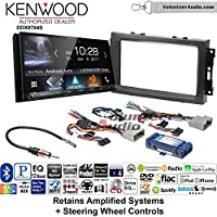 Volunteer Audio Kenwood DDX9704S Double Din Radio Install Kit with Apple Carplay Android Auto Fits 2007-2008 Ram, 2006-2007 Chrysler 300 (Retains steering wheel controls)