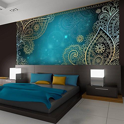 Vlies Fototapete 300x210 cm - 3 Farben zur Auswahl - Top - Tapete - Wandbilder XXL - Wandbild - Bild - Fototapeten - Tapeten - Wandtapete - Wand - Orient Ornament f-A-0146-a-b