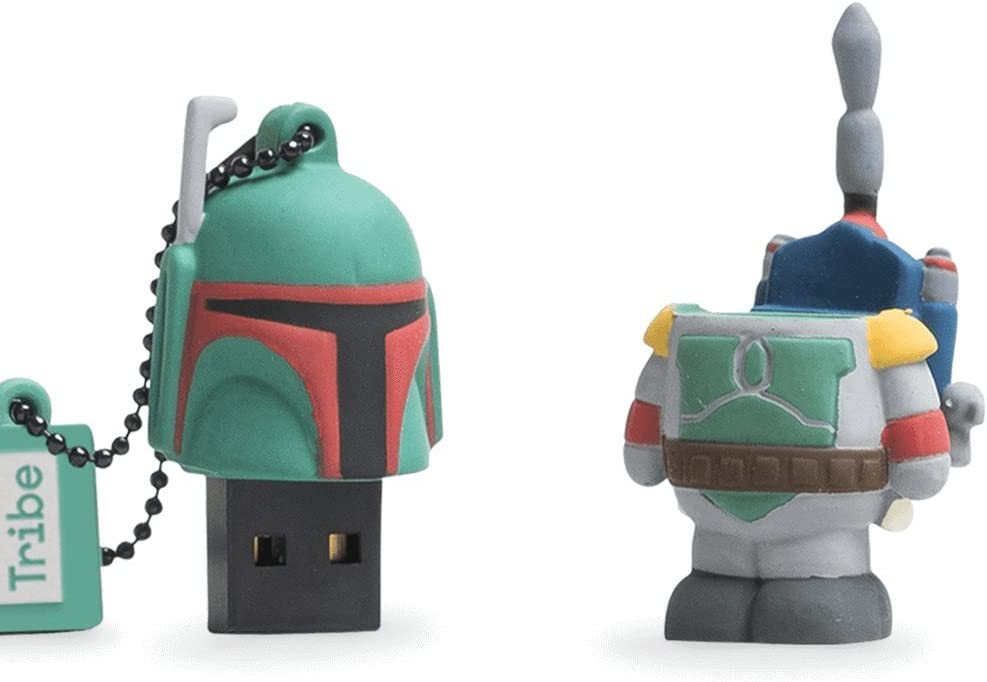 Llave USB 8 GB Boba Fett - Memoria Flash Drive 2.0 Original Star ...