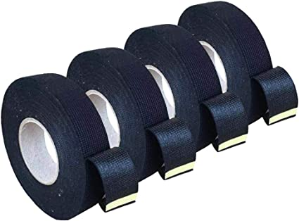 Amazon.com: 4 Rolls Wire Loom Harness Tape, Wiring Harness Cloth Tape,  Black Adhesive Fabric Tape for Automobile Electrical Wire harnessing Noise  Damping Heat Proof 19 mm X 15m: Car Electronics | Wrap Wire Harness |  | Amazon.com