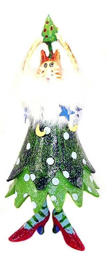 "Dept 56 Krinkles Christmas Tree Cat Doll Red Shoes Ornament 16"" - Amazon.com: Dept 56 Krinkles Christmas Tree Cat Doll Red Shoes"