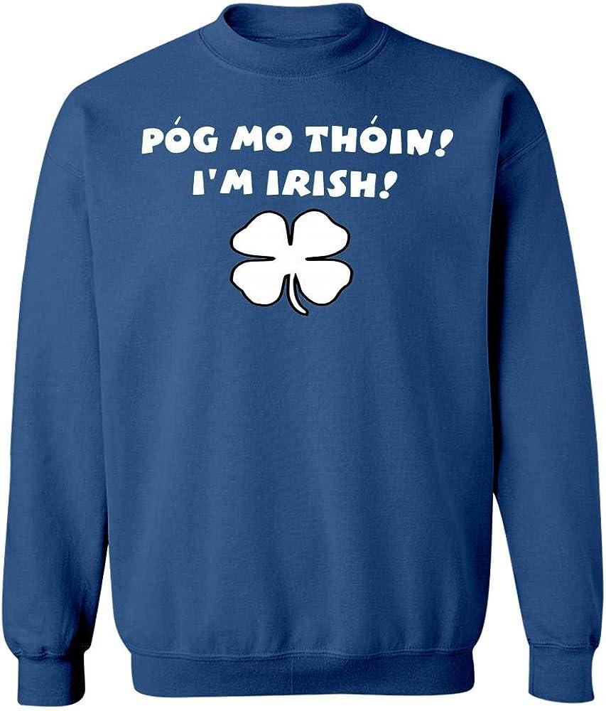 Pog Mo Thoin Happy St Patricks Pattys Day Sweatshirt Royal Blue