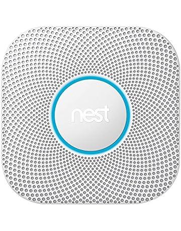 Nest Protect 2 generación de Humo y Detector de monóxido de Carbono, 1 Pieza,