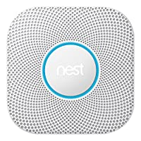 Nest S3000BWDE Protect 2 Generation Smoke and Carbon Monoxide Detector, Set of 1, White