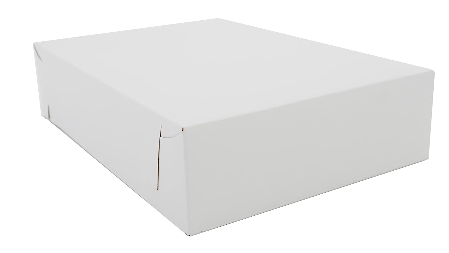 "Southern Champion Tray 1020 Premium Clay Coated Kraft Paperboard White Donut Tray, 13"" Length x 9"" Width x 3"" Height (Case of 200 Pieces)"