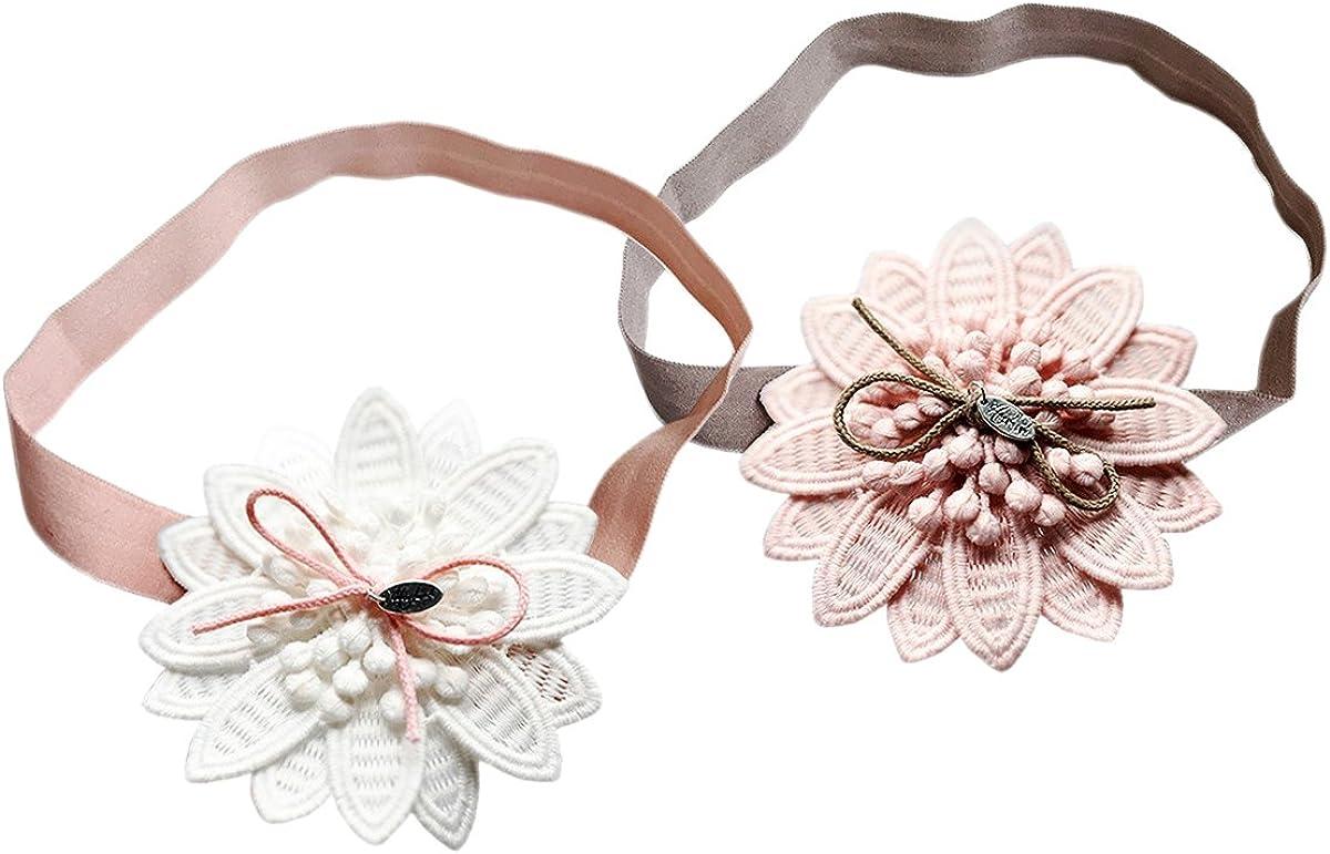JMITHA Baby Stirnb/änder Turban Haarband Stirnband Kopfband Babyschmuck M/ädchen geschenke Taufe Stirnband Turban M/ädchen Head wrap