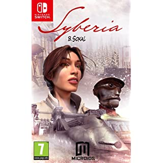 Syberia 1 Nintendo Switch French Edition