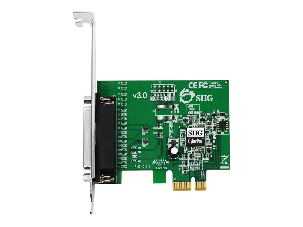 Siig JJ-E01011-S3 CyberParallel PCIE Parallel Adapter