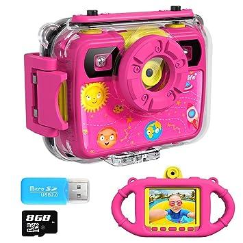 Amazon.com: Ourlife Cámara para niños, selfie Kids ...