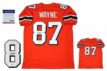 half off 34eeb 92c87 Reggie Wayne Autographed Jersey - PSA/DNA Certified ...