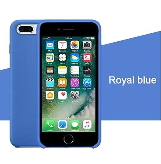 Amazon.com: Carcasa de silicona para iPhone 7, Apple iPhone ...